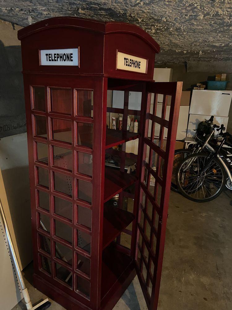 cabine téléphonique Anglaise étagère 200 Alfortville (94)