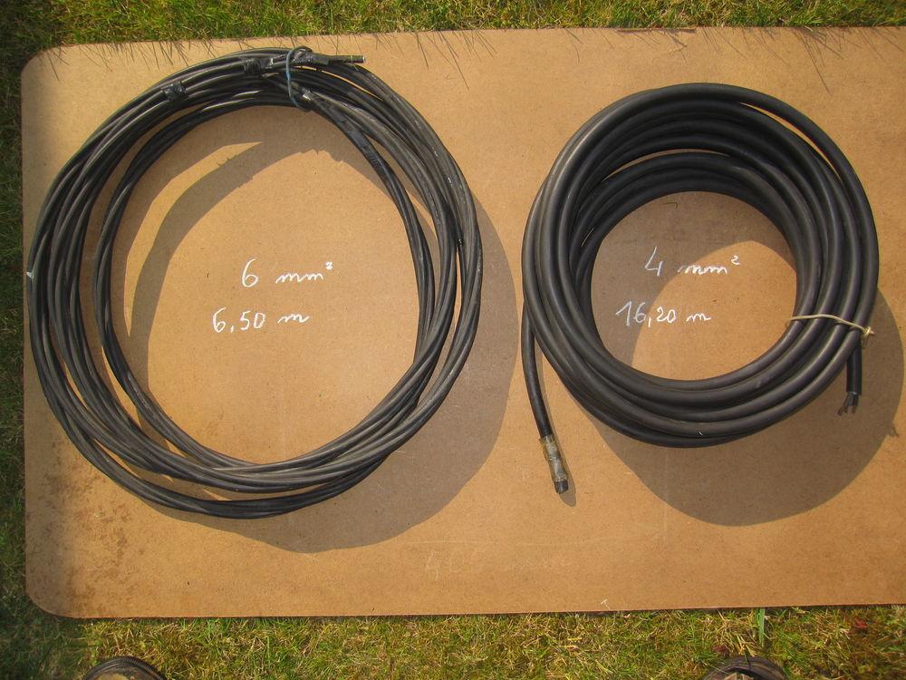 Câble électrique  5G1,5 mm²    3 m. et 8,4 m. 4 Comines (59)