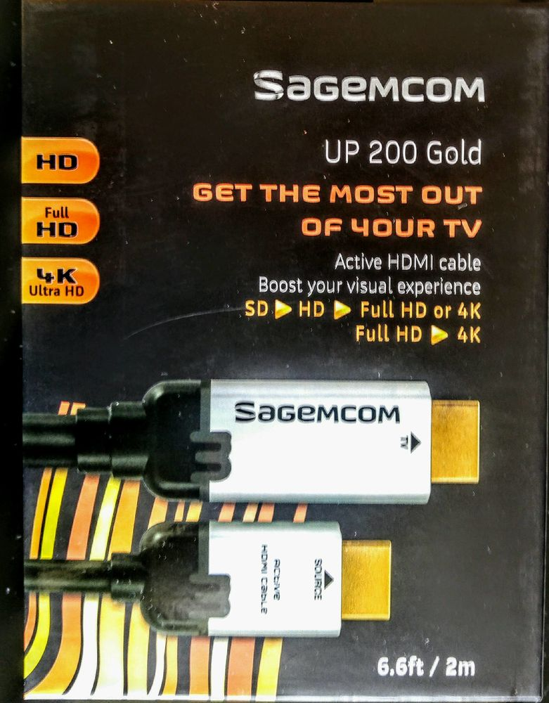 Cable hdmi upscale sagemcom up 200 gold 30 Grenoble (38)