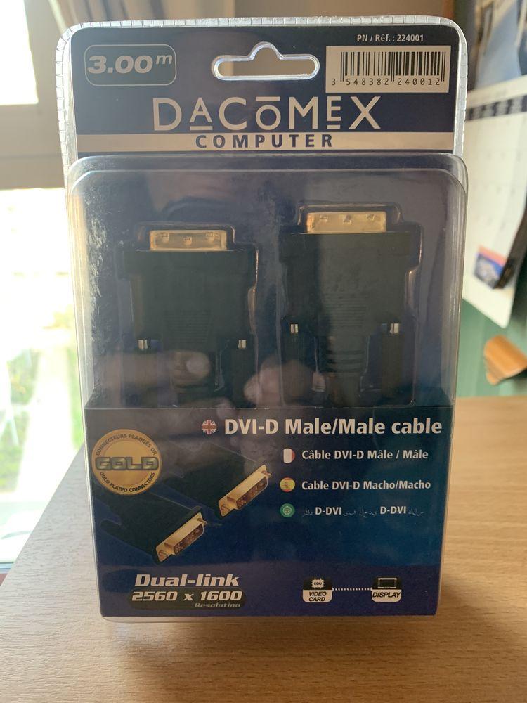 Câble DVI-D Mâle Mâle  6 La Courneuve (93)