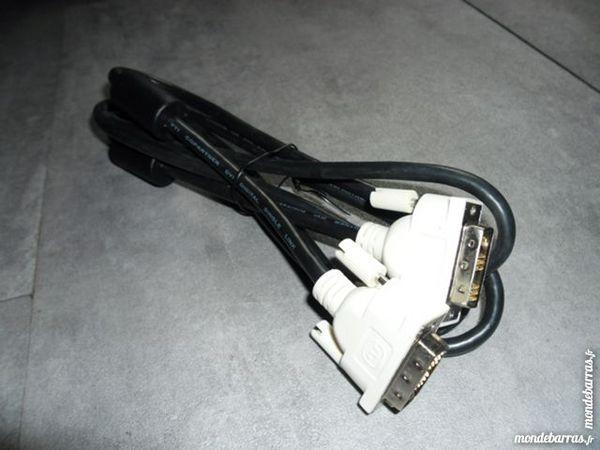 Câble pour écran plat LCD avec prise DVI / DV-I 5 Lyon 9 (69)