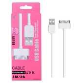 Câble USB pour iPhone 3G, iPhone 44S, iPad 23, iPod, 1m. 3 Milhaud (30)
