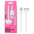 Câble USB pour iPhone 3G, iPhone 44S, iPad 23, iPod, 1m. Milhaud (30)