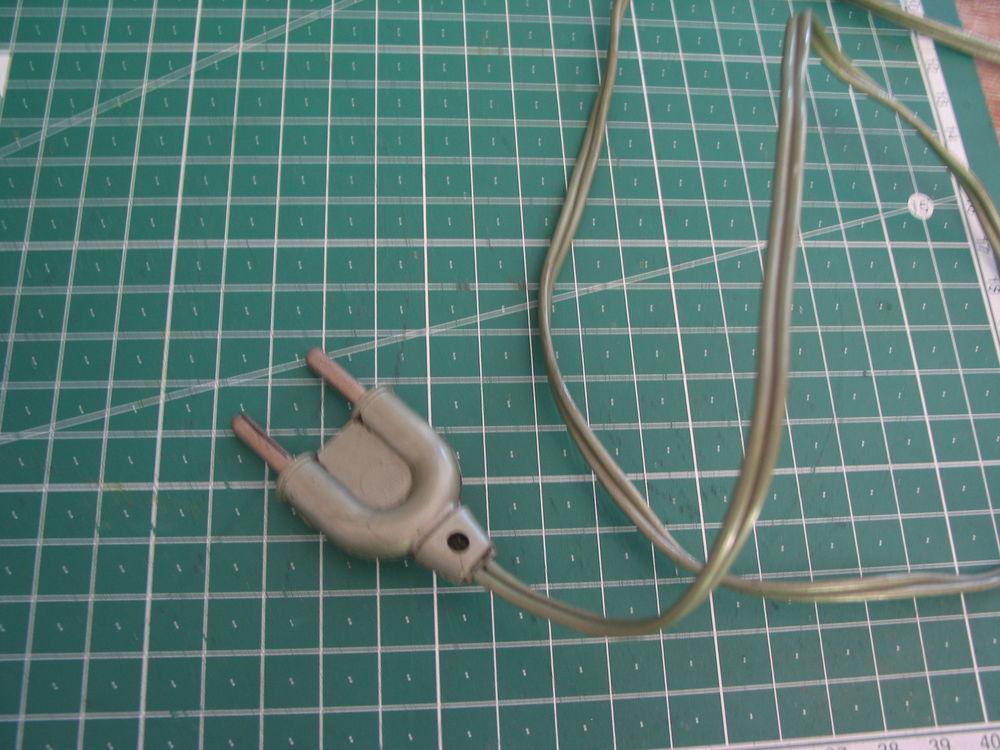 Câble + prise de lampe JUMO fer a cheval 1m60 vert lampe Jum Décoration
