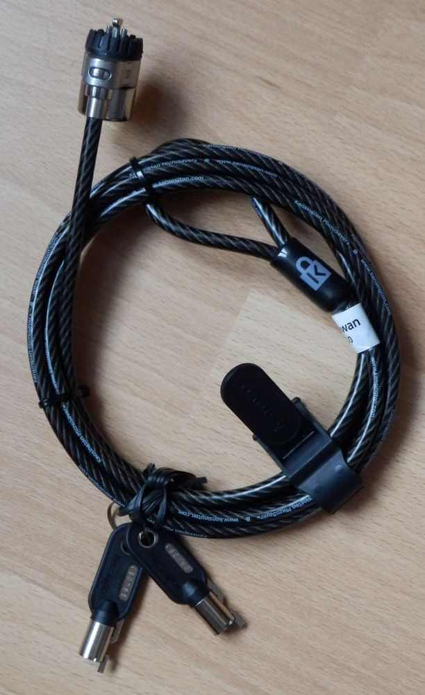 Cable de sécurité à clé - kensington : NEUF 6 Évry (91)