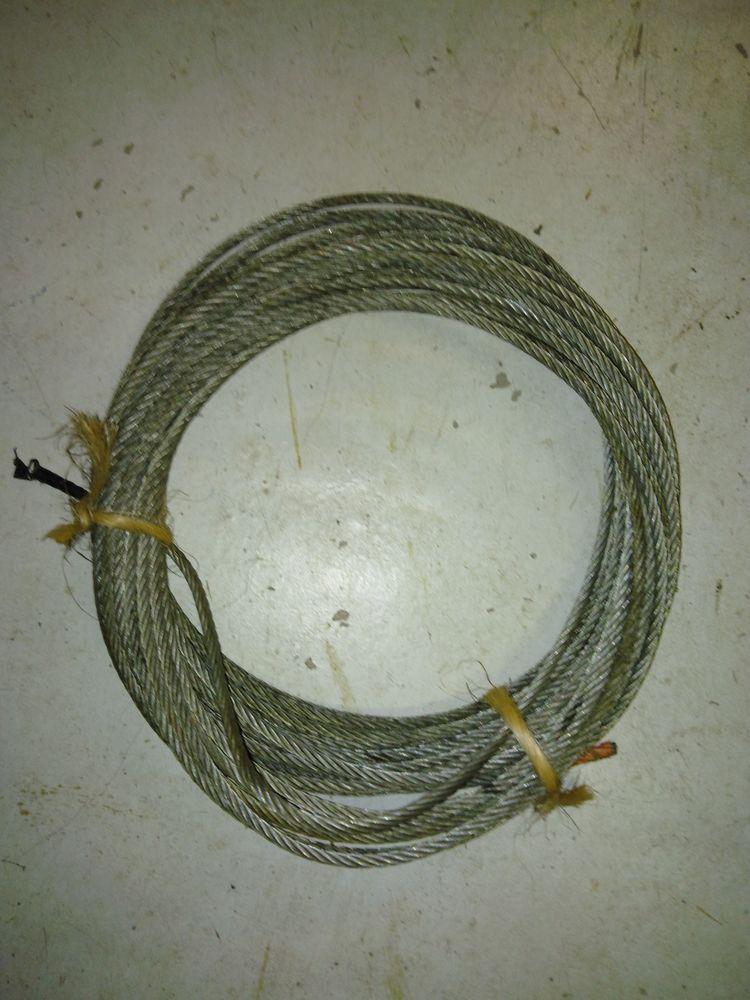 2 cables acier diametre 6 longueur 21 & 28 metres 10 Montpellier (34)