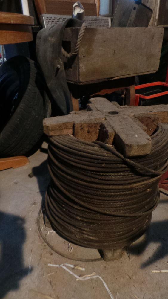 câbles de divers diamètre neufs 1 Cantaing-sur-Escaut (59)