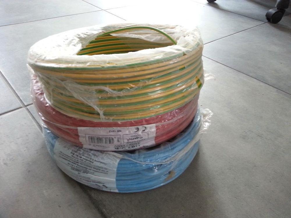 Câbles électriques 6mm² 30 Lestrem (62)