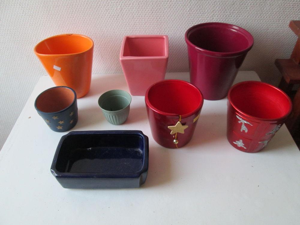 Cache-pots et pots en faience 3 Herblay (95)