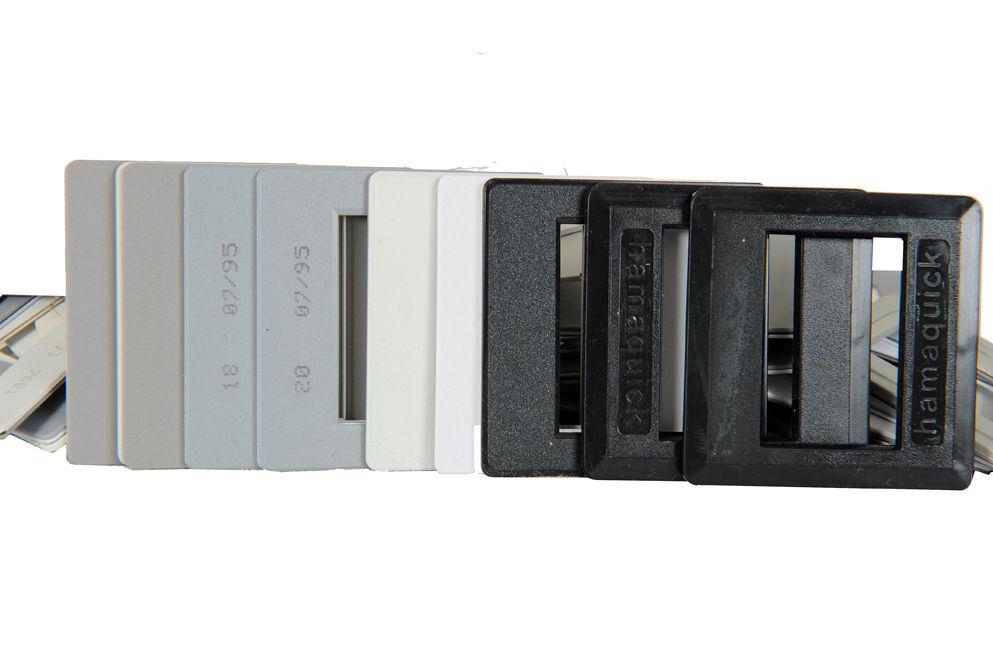 Caches plastique diapositives. 9 Alfortville (94)