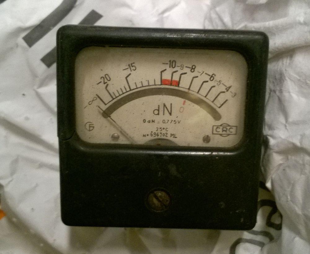 Cadran indicateur de force en dN 7 Rouen (76)