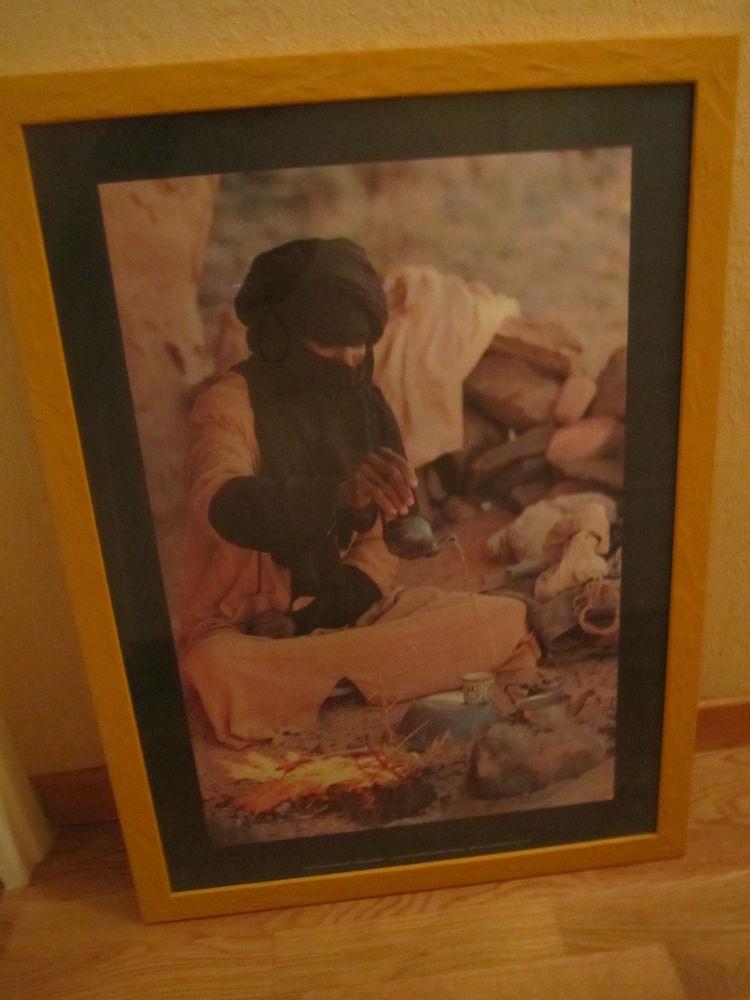 cadre avec photo de Tunisie - tour jaune 75,5 x 55,5 cm  0 Mérignies (59)