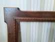 Cadre en bois 1900 avec verre - TBE Décoration