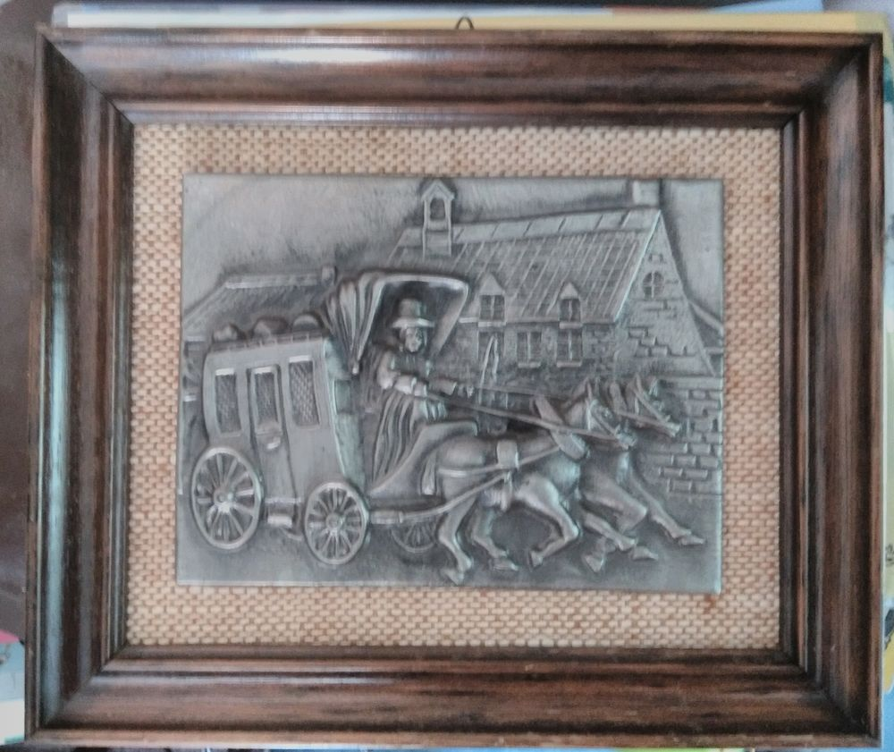 Cadre bois décor étain SENECAL 21 Saint-Jean-du-Cardonnay (76)