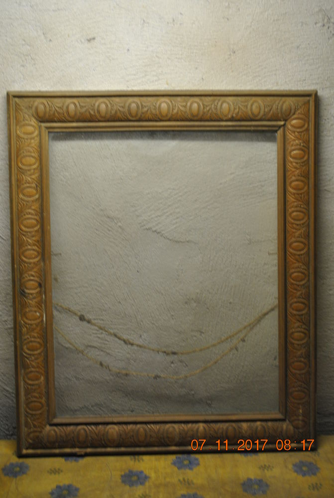 cadre bois + verre Décoration