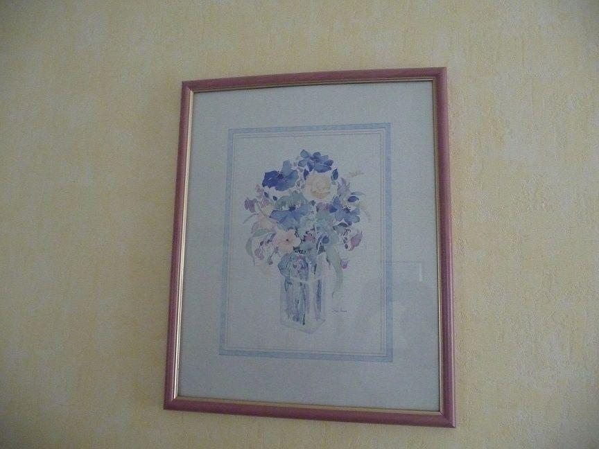 Cadre Bouquet Fleurs style aquarelle NEUF 20 Montigny-le-Bretonneux (78)