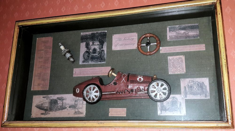 Cadre Collector  '  The history of car racing  30 Neuvic (24)