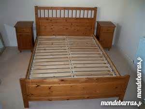Tables de chevet occasion dans les yvelines 78 annonces for Cadre de lit ikea avec tables de chevet