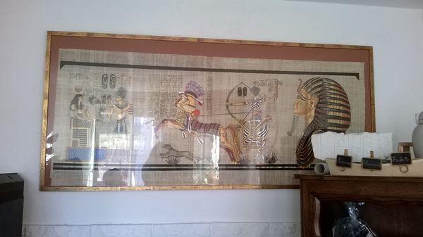 Cadre égyptien en verre 50 Lunel (34)