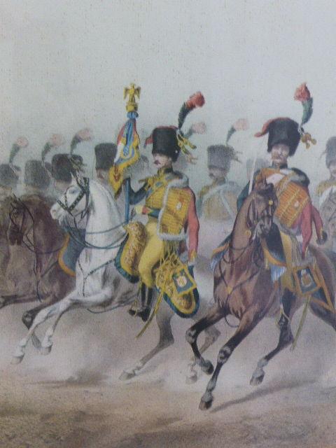 Cadre garde impériale chasseurs à cheval 1804 8 Rueil-Malmaison (92)