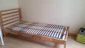 Cadre de lit, pin, Lonset et sommier Tarva 55 Vincennes (94)