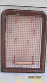 Cadre marron et Grille rouge porte-Sopalin et ... 20 Le Vernois (39)