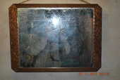 cadre miroir  année 60 10 Blaye-les-Mines (81)