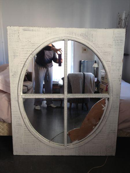 Achetez cadre oeil de boeuf a r nover annonce vente for Miroir oeil de boeuf
