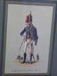 Cadre officier anglais du 7ème dragon léger 1810 Décoration