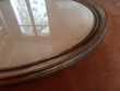Cadre Ovale Bois Doré Vitré (83x67cm)
