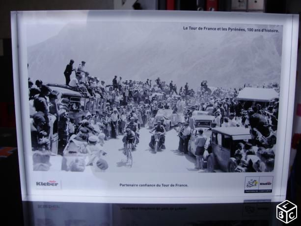 CADRE PHOTO EN BLOC RESINE : le tour de france 50 Coudekerque-Branche (59)