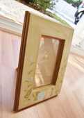 Cadre photo bois et verre. 19 cm x 24 cm. Très bon état.  5 Gujan-Mestras (33)