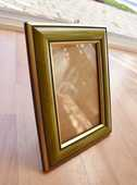 Cadre photo bois et verre. 20 cm x 15.5 cm. Très bon état. 5 Gujan-Mestras (33)