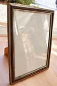 Cadre photo. Couleur bois et doré. 27x21 cm. Tbe. 5 euros 5 Gujan-Mestras (33)