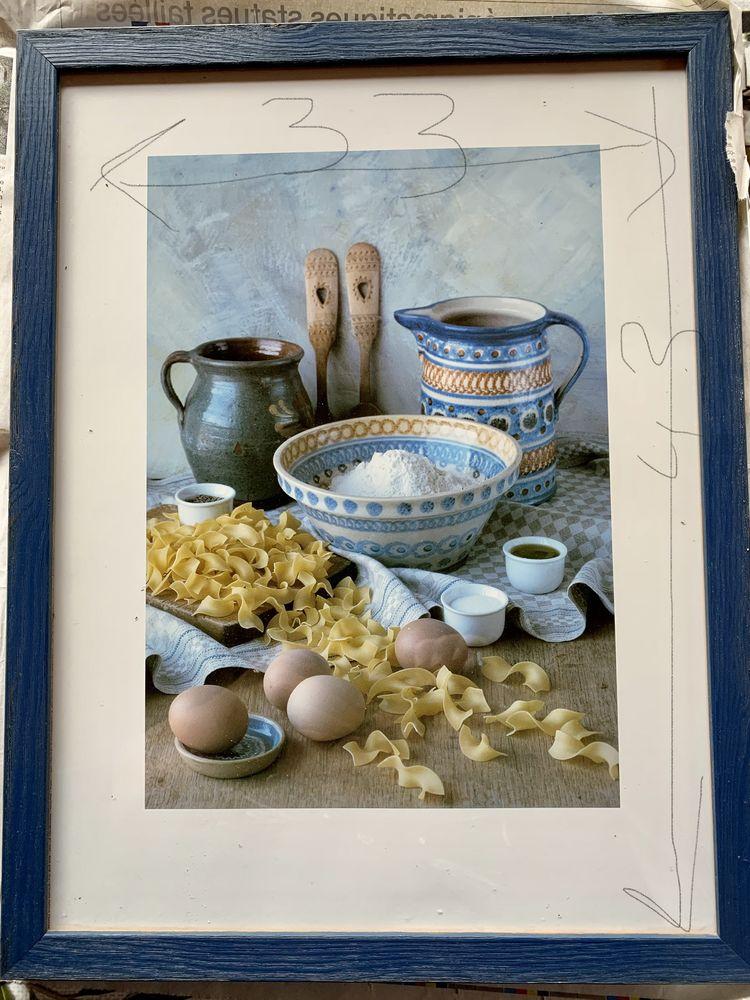 Cadre photo cuisine