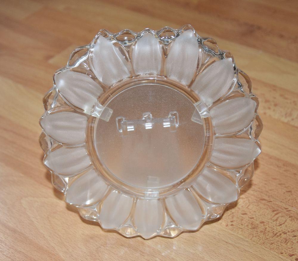 Cadre photo fleur en verre. 17 cm. Très bon état.  6 Gujan-Mestras (33)