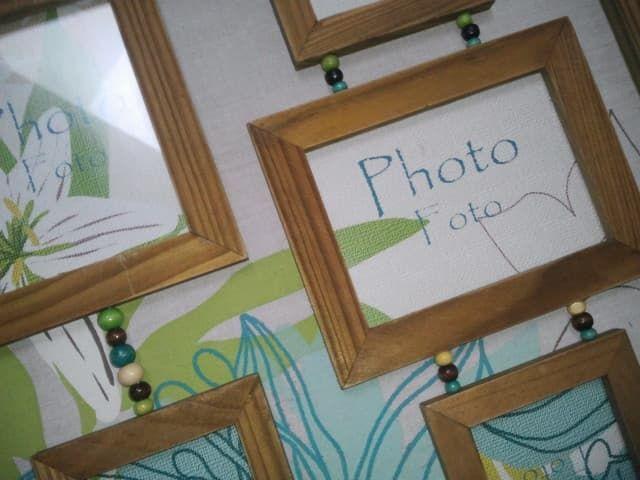 Cadre porte-photos 6 vues  Création de nos Stylistes  - Neuf 10 Lisses (91)