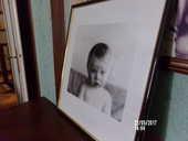 cadre représentant un portrait de bébé 5 Berck (62)