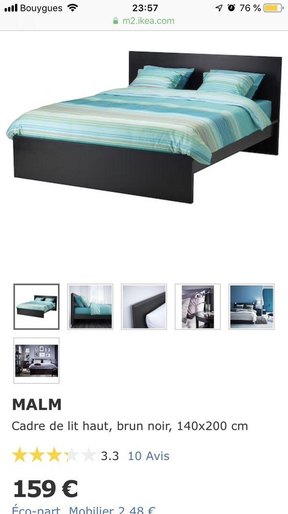 Cadre de lit et/ou sommier 140x200 Meubles