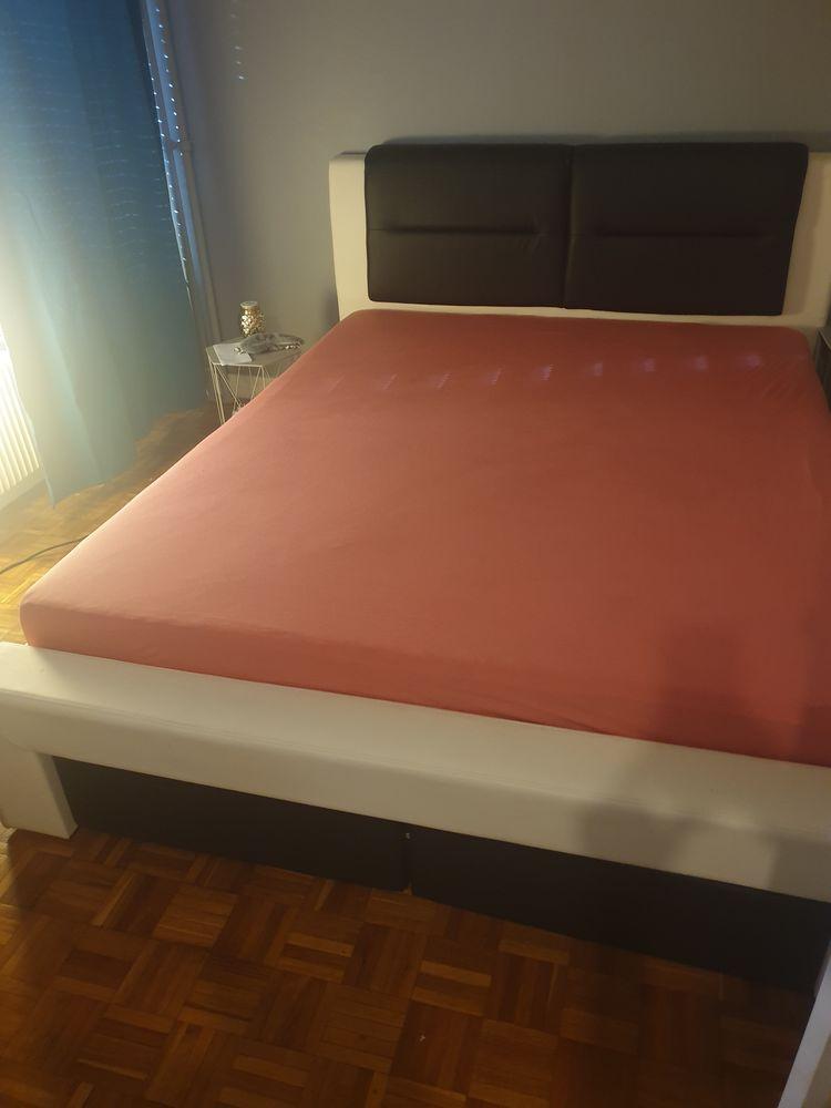 Cadre de lit + sommier avec tiroir 160 X 200   400 Antony (92)