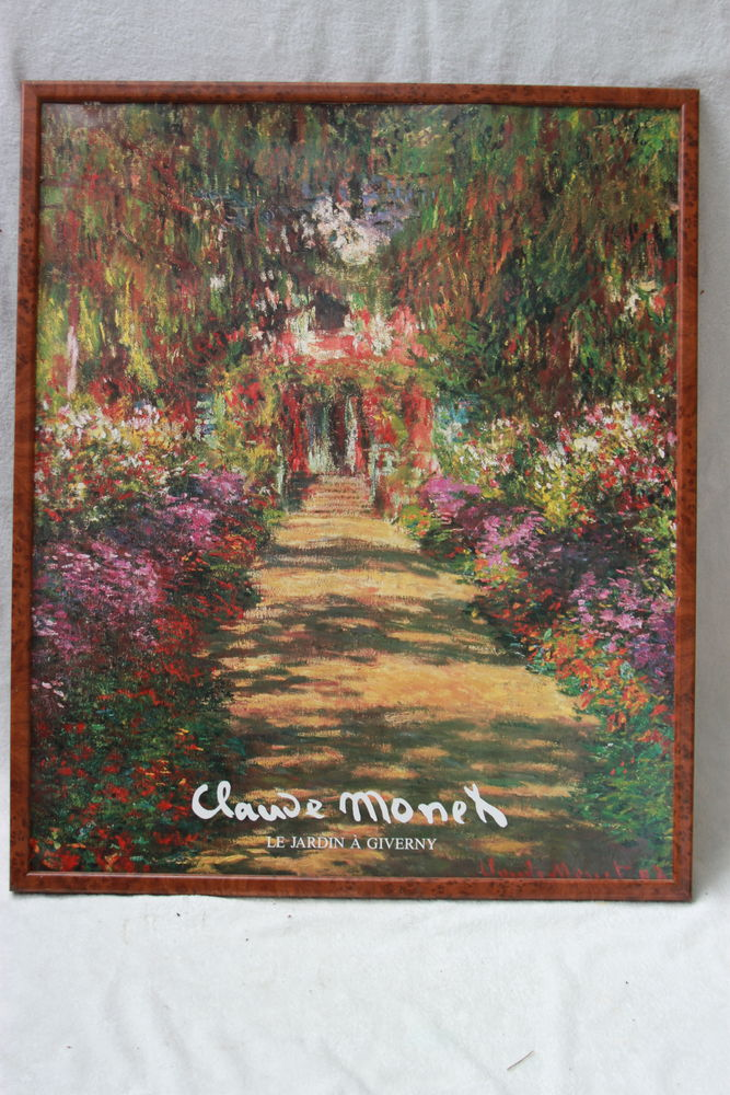 Cadre tableau Claude Monet  5 Montigny-Lencoup (77)