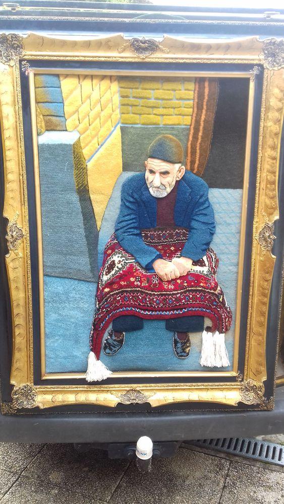 cadre tapis fait en IRAN 0 Elbeuf (76)