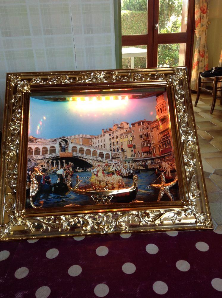 Cadre vitrine éclairée :Venise 8 Égletons (19)