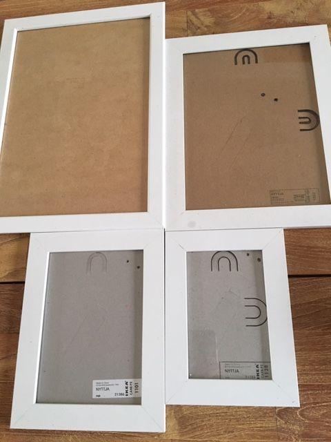 9 cadres blanc IKEA 1 Halluin (59)