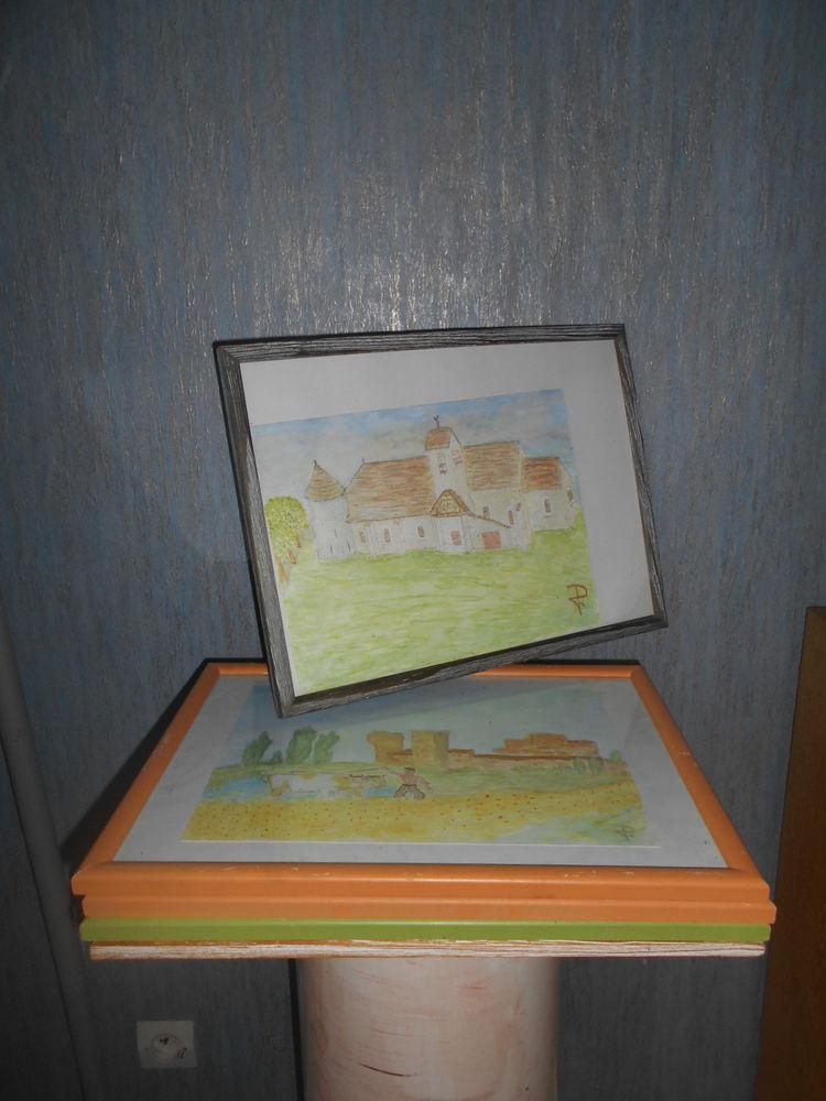 CADRES (5) bois pour photos (1)  40 Dammarie-les-Lys (77)