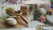 cadres bois toilé us en lot de 10 diverses dimensions Décoration