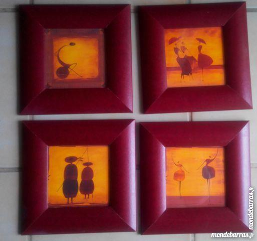 4 cadres en imitation cuir 15 Dourdan (91)