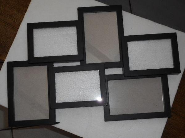 2 cadres photos, 6 casiers (45,5x31cm) 3 Ondres (40)