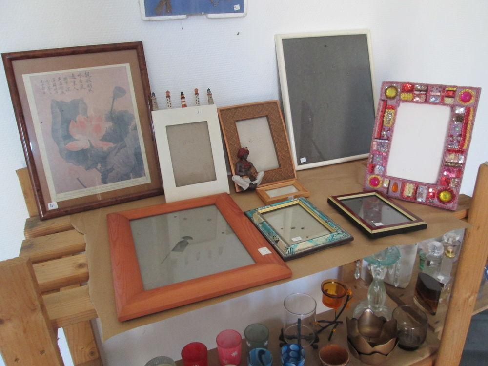 Cadres pour tableaux et photos avec verres lot n°1 3 Herblay (95)