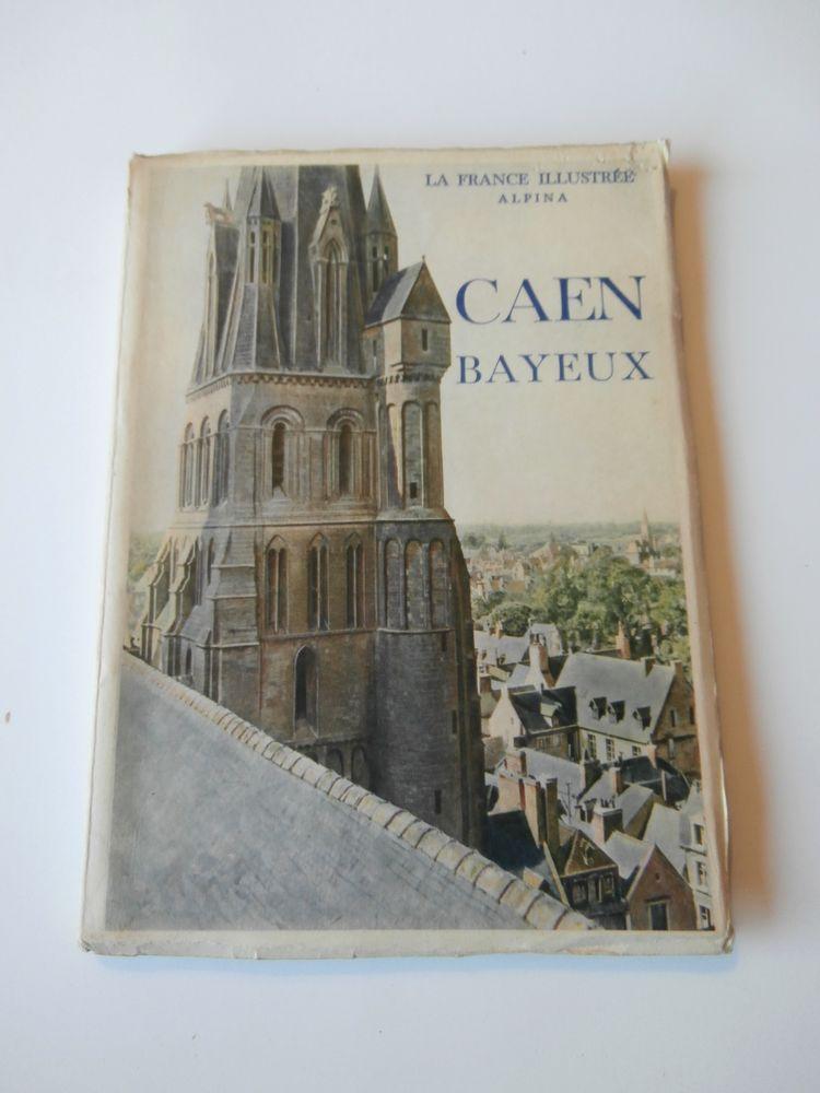 CAEN. BAYEUX. LA FRANCE ILLUSTRÉE ALPINA. ROBERT DORÉ.1939 9 Tours (37)